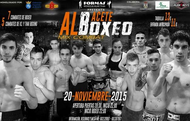 Festival Boxeo albacete