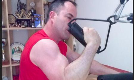 lucha de brazos entrenamiento