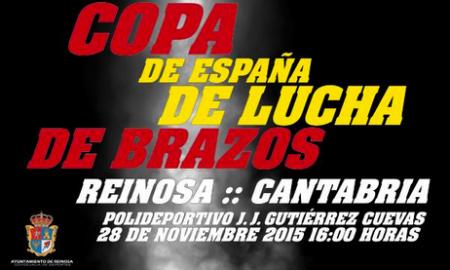 Copa de españa 2015 lucha de brazos cartel