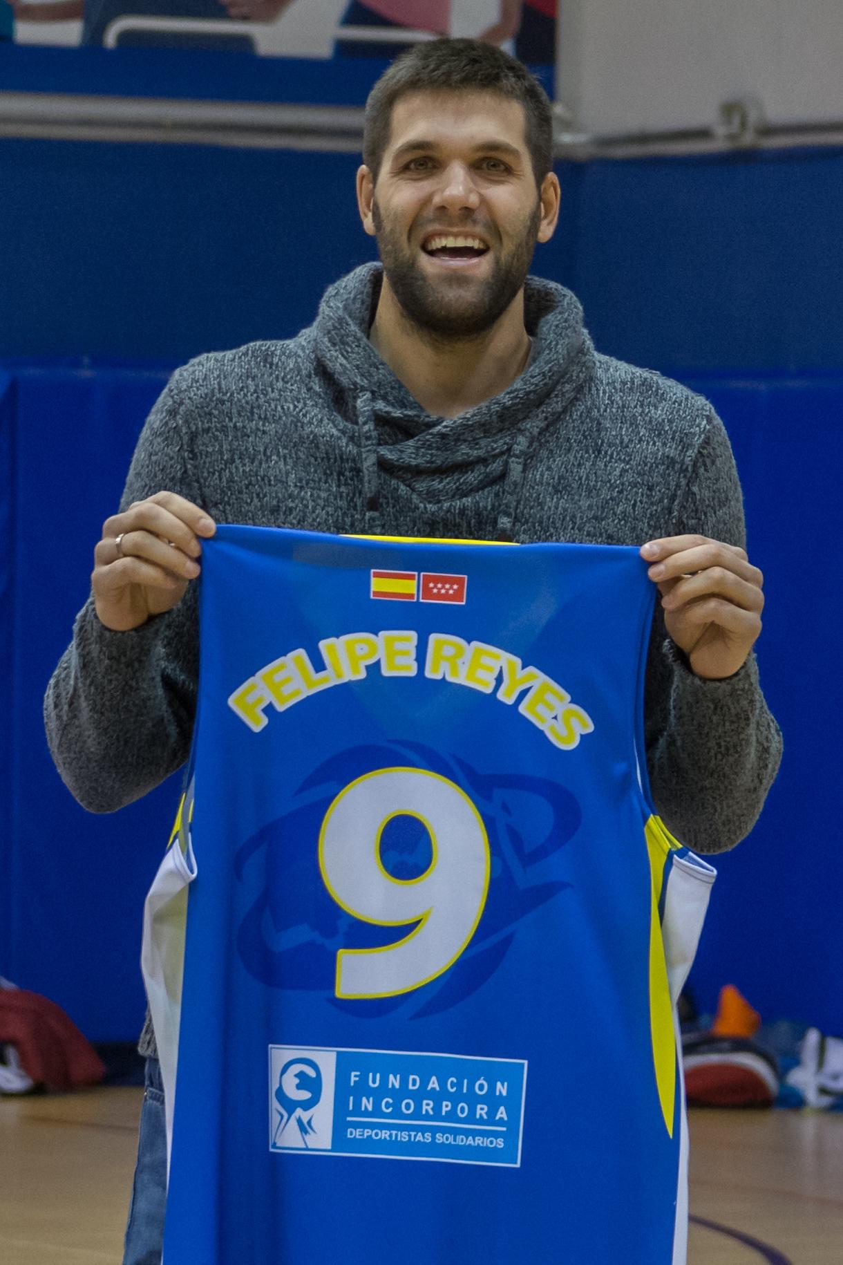 Club Baloncesto Getafe presenta su temporada junto a Felipe Reyes